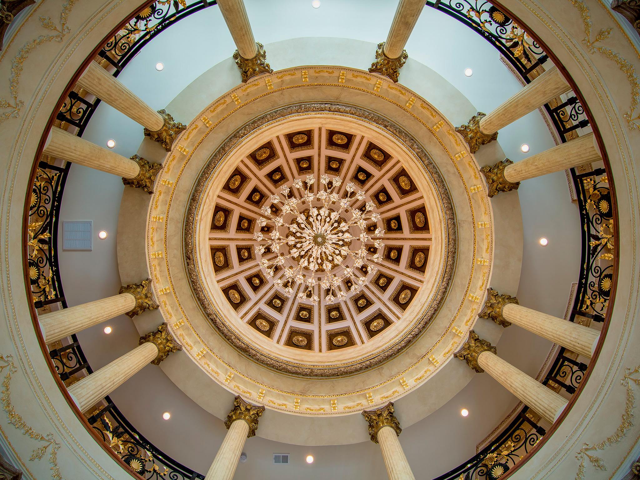 Rotonda Foyer's Dome