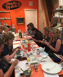 Ladies' Night, Hen Night, Workshop, Pottery Painting Party