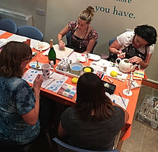 Ladies' Night, Pottery Painting, Party, Studio, Hen Night, Workshop, Date night, Valentines, Book Club, Prosecco, BYOB