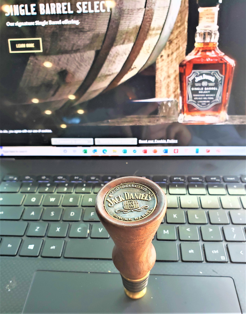 Single Barrell Jack Bottle Stopper