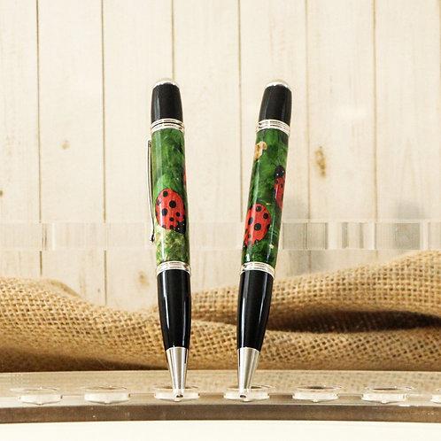 Lady Bug Pens