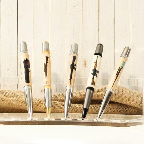 Wooden Gun Pens