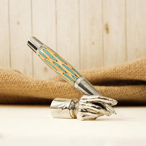 Cholla Cactus & Turquoise Pen