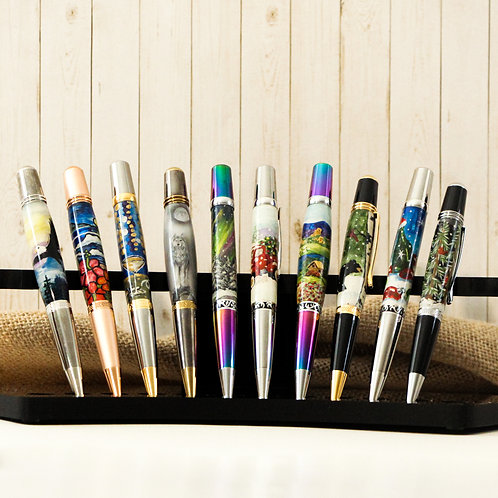 Hand Painted Pens