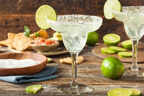 Refreshing Homemade Classic Margarita wi