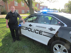Chesapeake PD at National Night Out