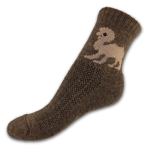 Носки детские из верблюжьей шерсти ДВ 1