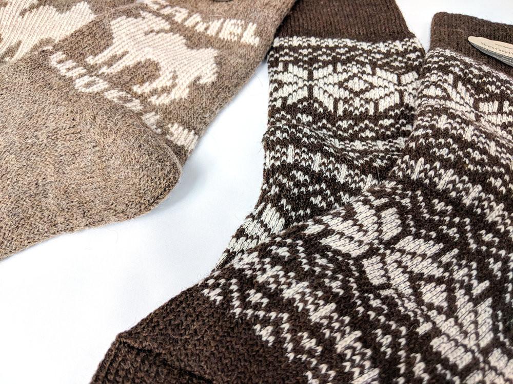 Крупный план красивых деталей носков - Фото: The Sock Review