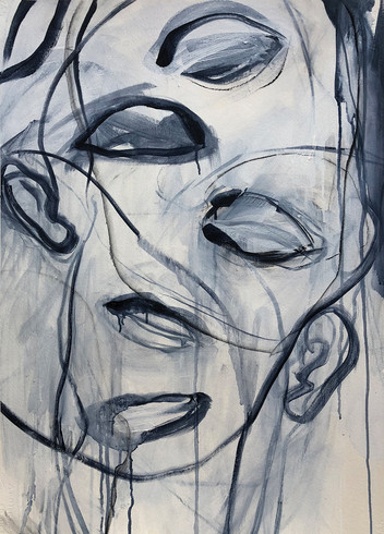 abstract portrait