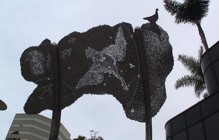 Sculptures - Swan Against Sky 2631