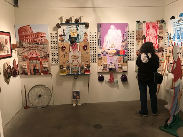 Slater @88 2019 show at Greenly Art Space