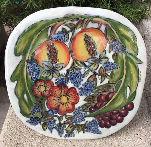 Rustic Bounty Square Plate