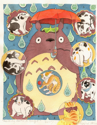 Totoro Series/Raining Cats and Dogs