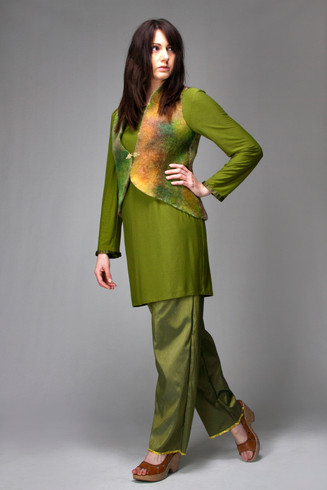 new outfit green