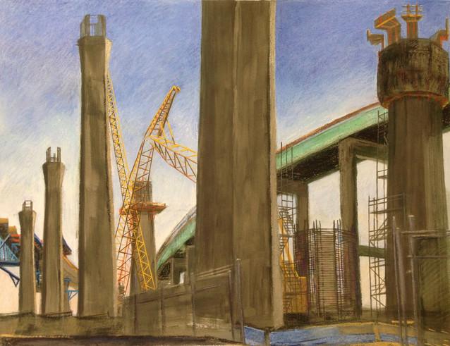Construction, Long Beach Harbor