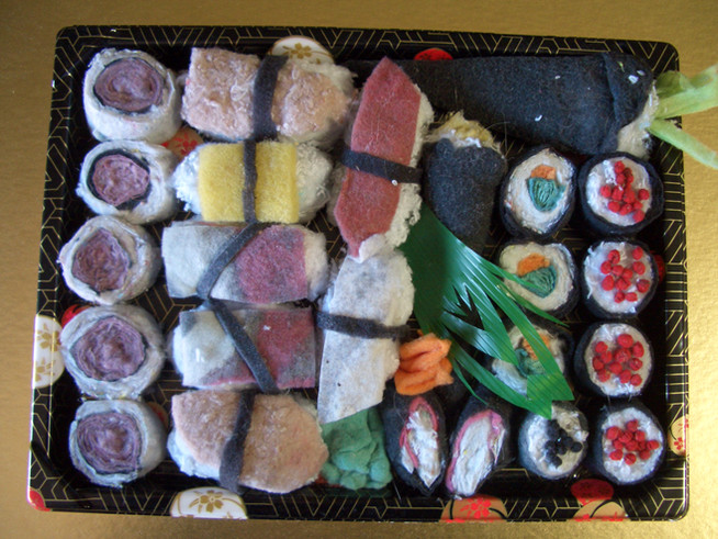 Golden Circle Tray of Sushi