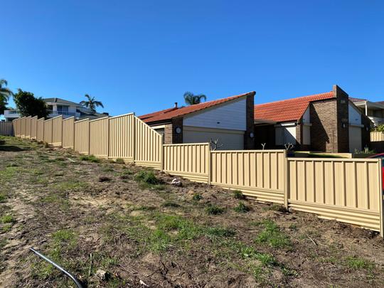 Colorbond Fence, Ballajura.
