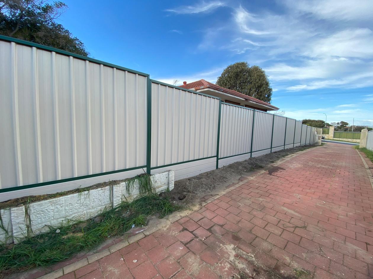 Colorbond Fence, Balga.
