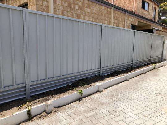 Colorbond Fence, Mount Pleasant, Perth