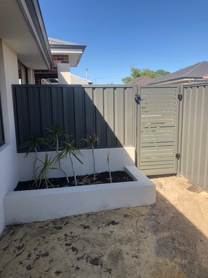 Slat Gate and Fence, Perth