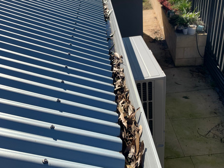 Tips for how to safely clean your home Gutters in Perth.