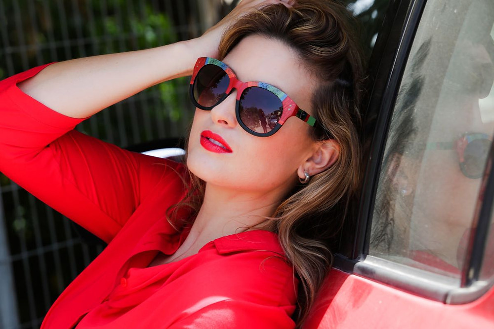 משקפי שמש מיוחדים - מעצבת רוני דורי