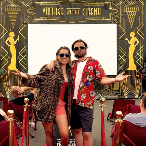 open air cinema event hire