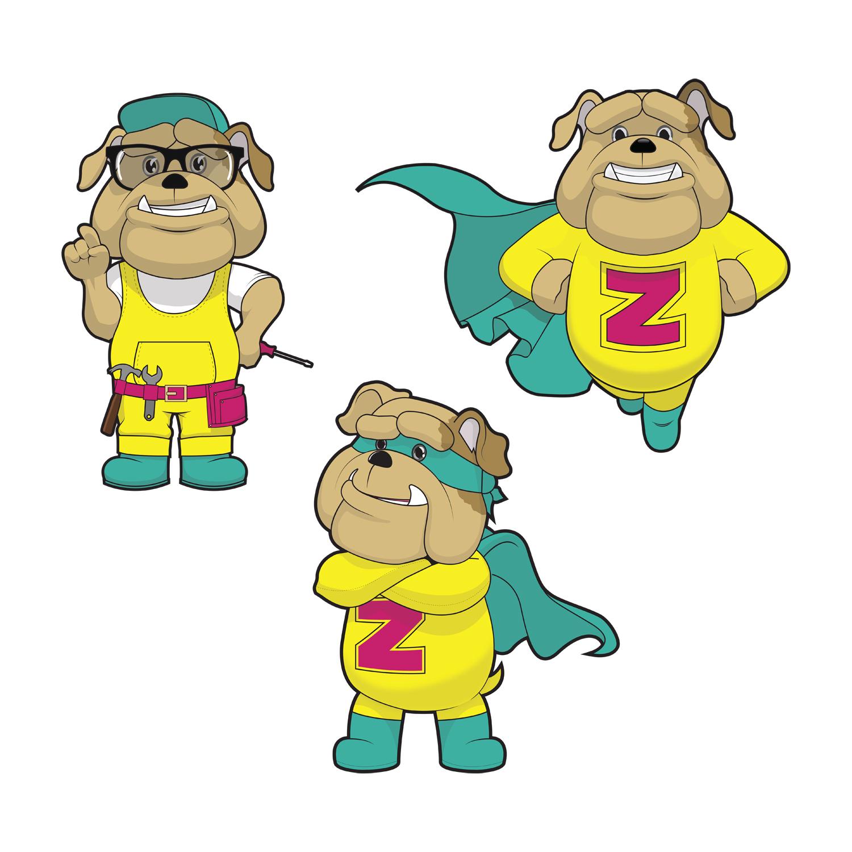 Zingo mascot design