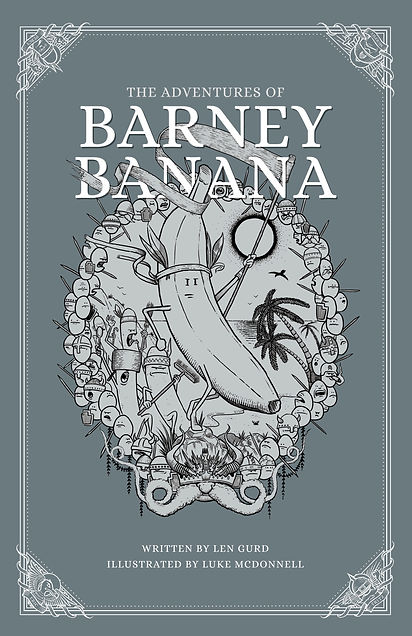 RIGHT 1 Barney Banana book cover ingram