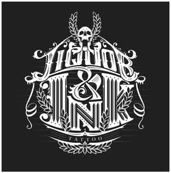 Liquor & Ink logo