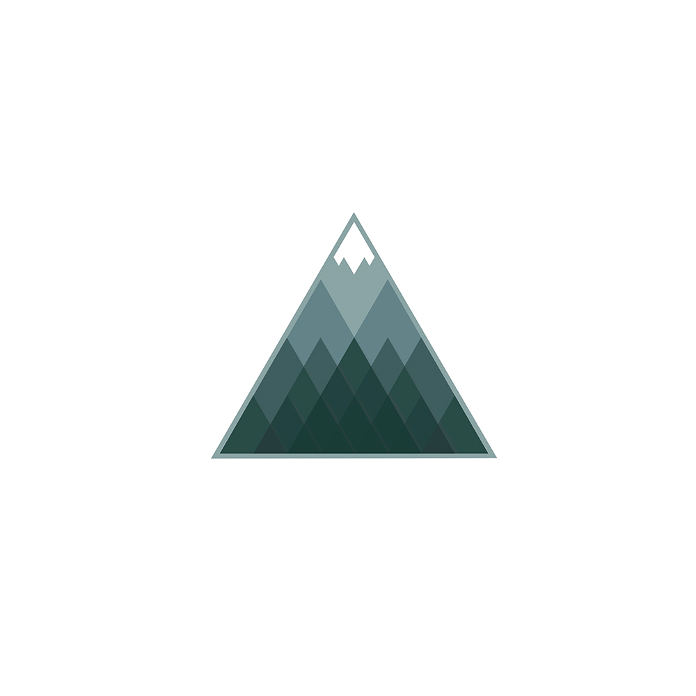 Mountain clothing logo design