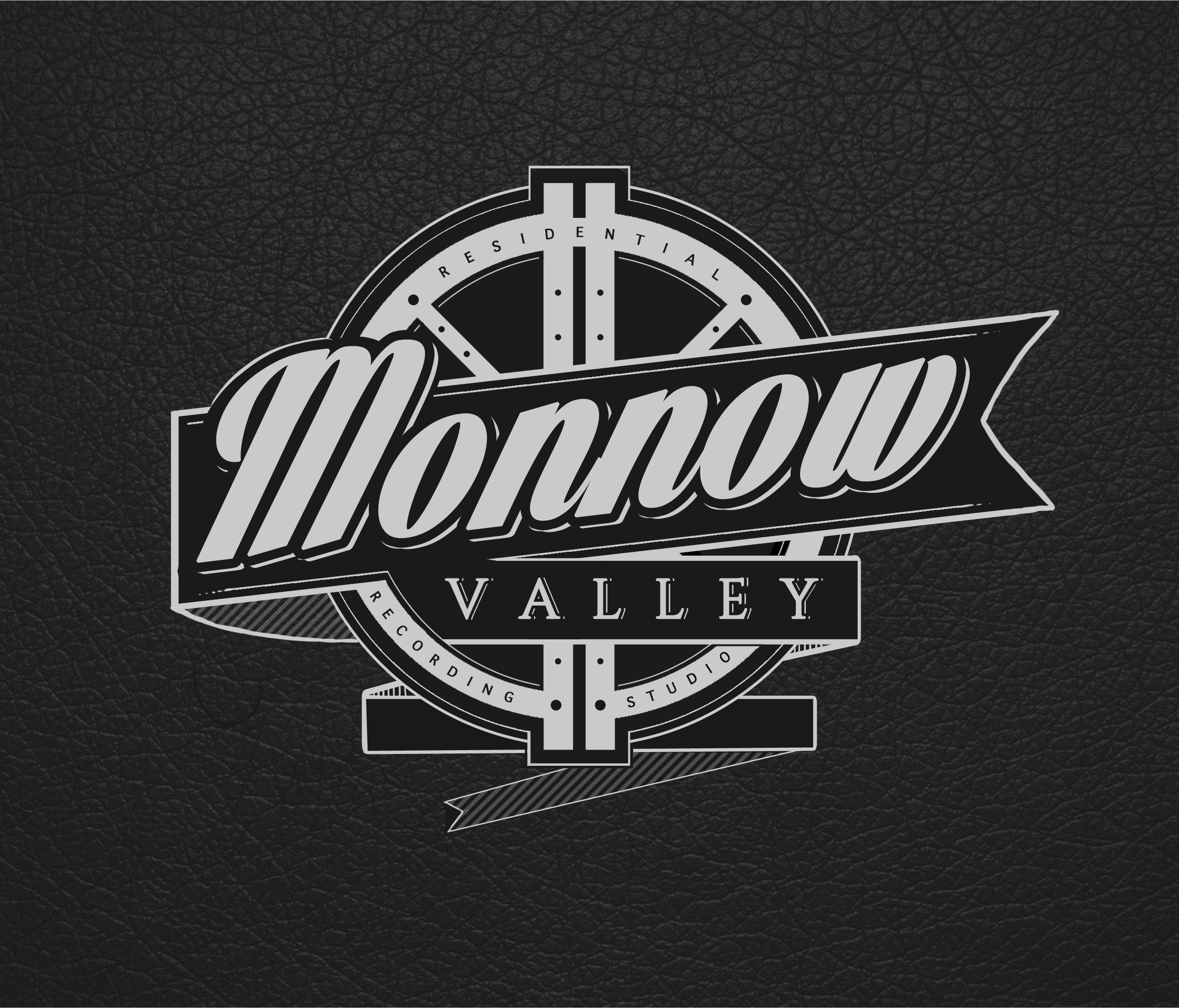 Monnow Valley Calligraphy style logo