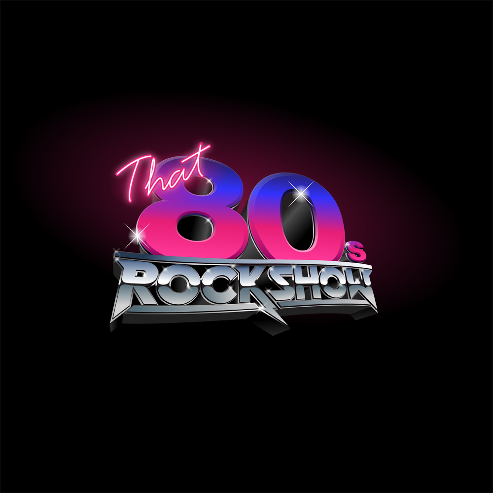 that 80s Rockshow logo