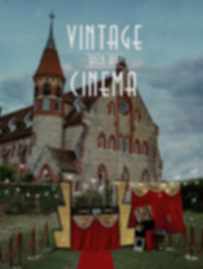 Vintage Open-Air Cinema memorable summer