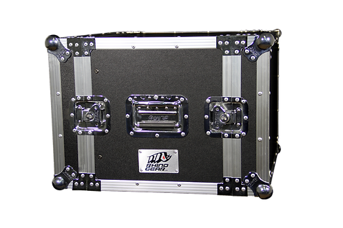 RHINO GEAR 8U RACK 380MM DEPTH