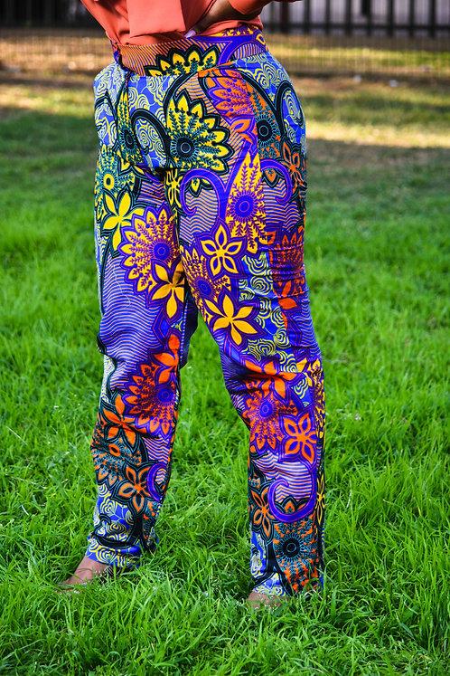 African Printed Pants