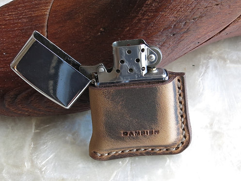 Leather ZIPPO cover