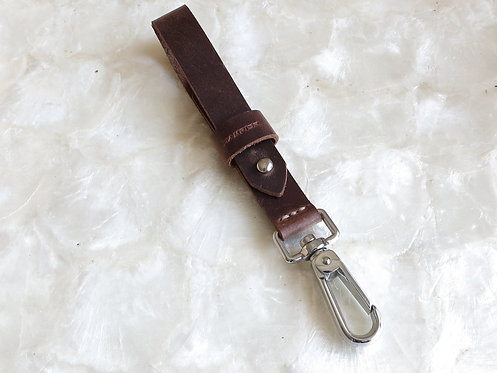 Leather Key Lanyard