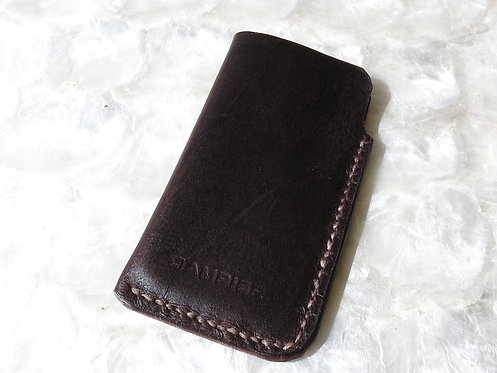 iPhone 5 leather sleeve
