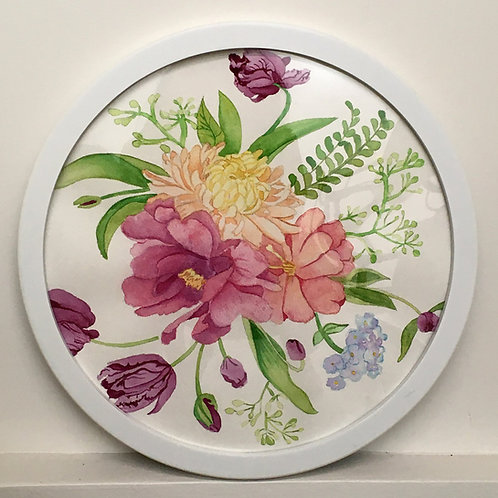 Framed Botanical Watercolor