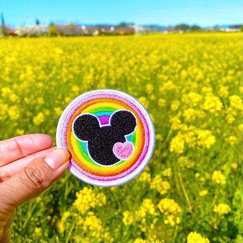 Rainbow Chenille Patch