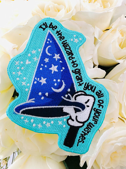 """""""I'll be the Wizard"""" Glow Patch"""