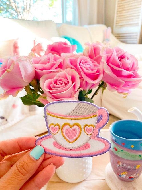 Pink Teacup Glow Patch