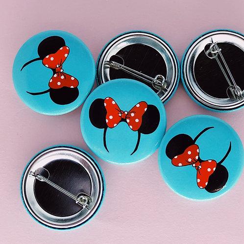 Minnie Ears Button