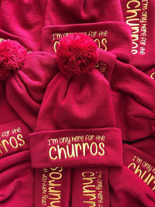 Red Churros Beanie