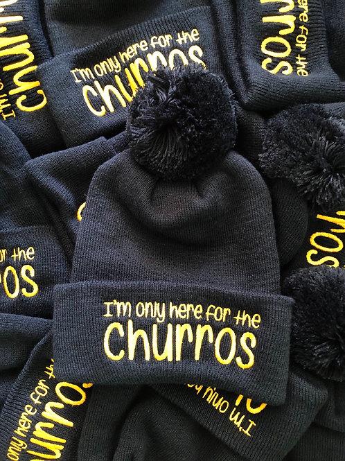 Black Churros Beanie