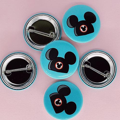 Mickey Hat Button
