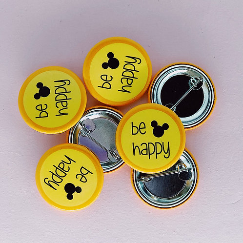 be happy Button
