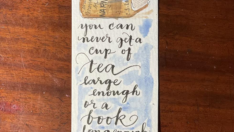 Tea and Bookmark No. 3