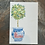 Thumbnail: Tree of Life Chinoiserie Topiary original handlettered watercolor painting